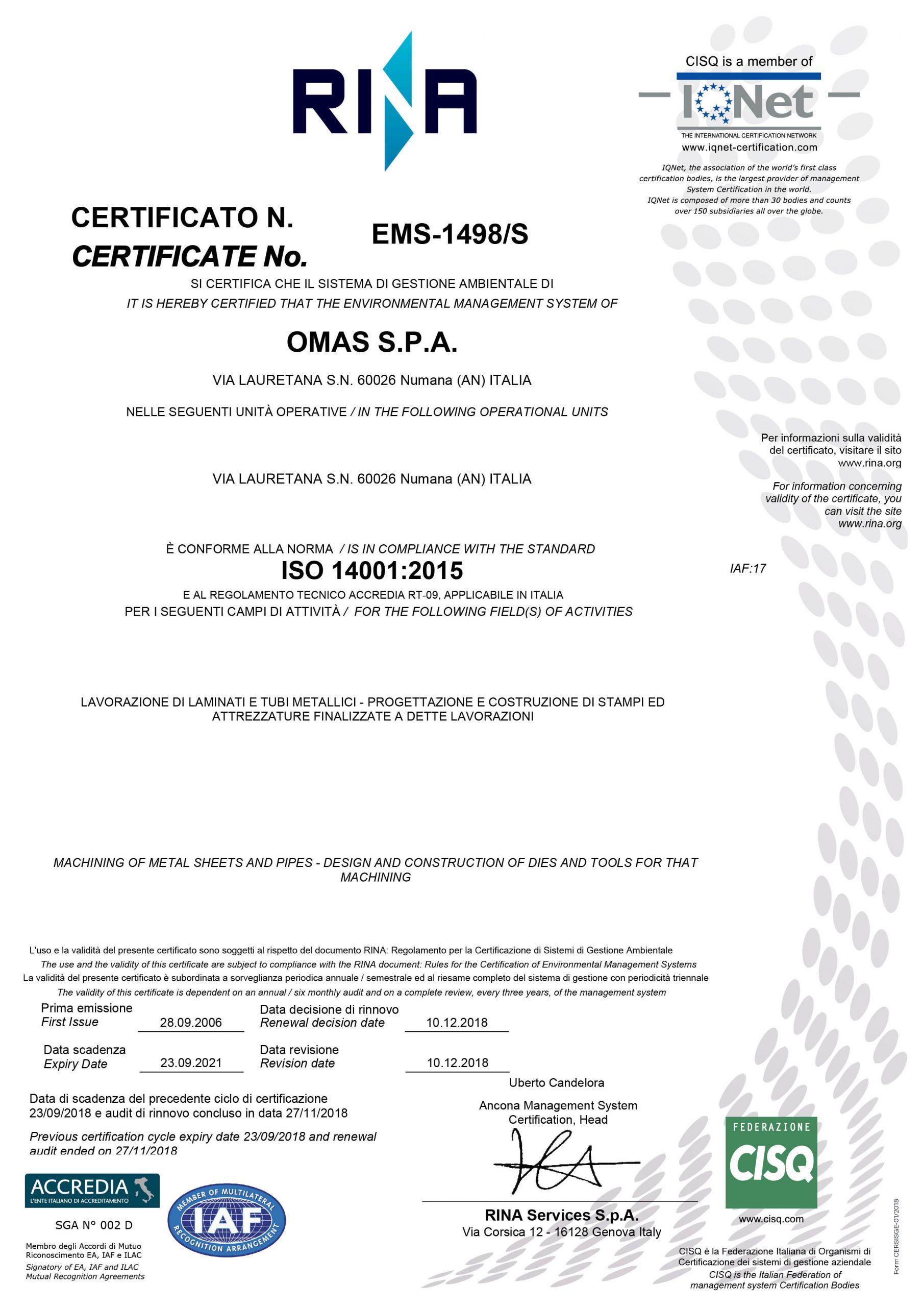 omas-14001-2015
